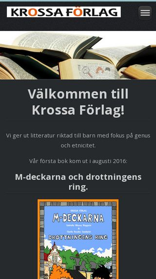 Mobile preview of krossaforlag.se