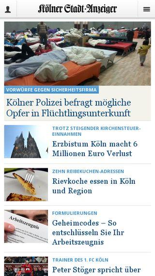 Mobile preview of ksta.de