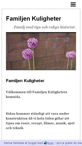 Mobile preview of kuligheter.n.nu
