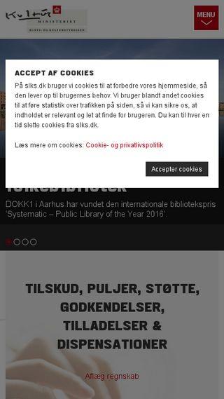 Mobile preview of kulturarv.dk