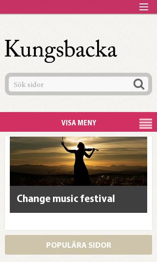 Mobile preview of kungsbacka.se
