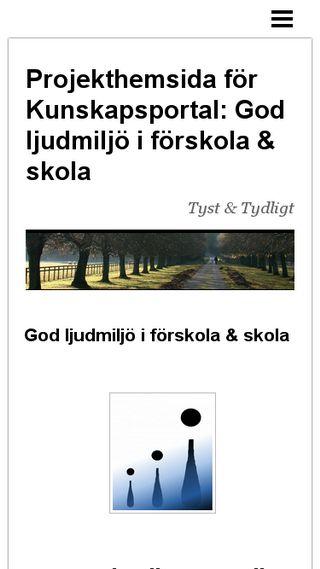 Mobile preview of kunskapsportalen.n.nu