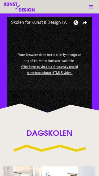 Mobile preview of kunstogdesign.dk