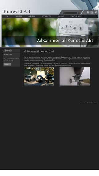 Mobile preview of kurresel.se