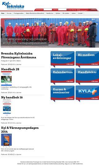 Mobile preview of kyltekniska.se