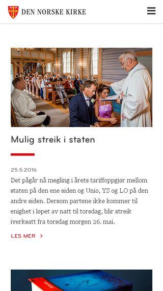 Mobile preview of lavikkyrkje.org
