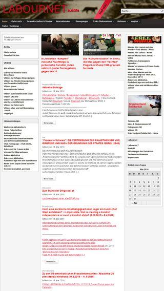 Mobile preview of labournetaustria.at