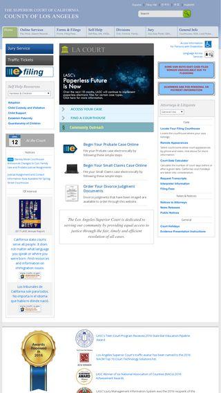 lacourt org | Domainstats com