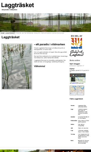 Mobile preview of laggtrasket.se