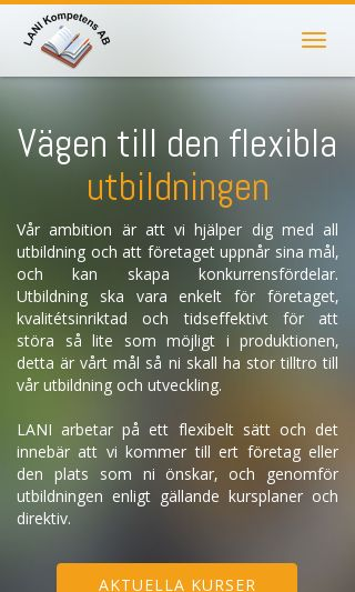 Mobile preview of laniab.se