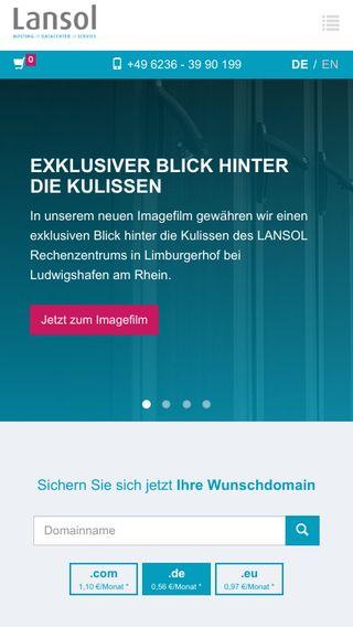 Mobile preview of lansol.de
