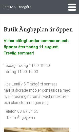 Mobile preview of lantlivtradgard.se