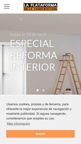 Mobile preview of laplataforma.es