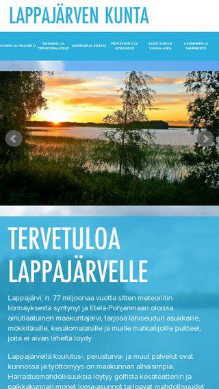Mobile preview of lappajarvi.fi