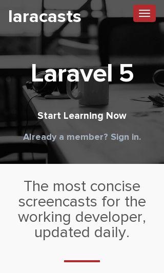 laracasts com | Domainstats com