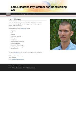 Mobile preview of larsliljegrenspsykoterapi.se