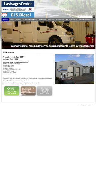 Mobile preview of lastvagnscenter.se
