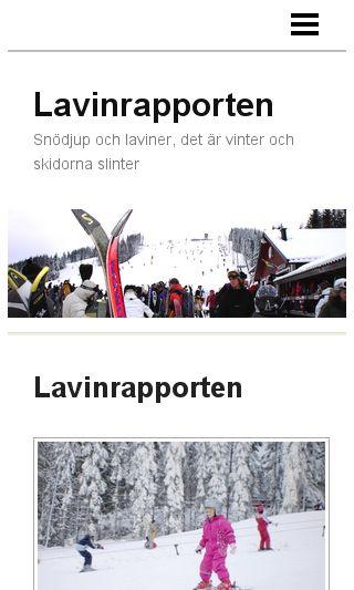 Mobile preview of lavinrapporten.se
