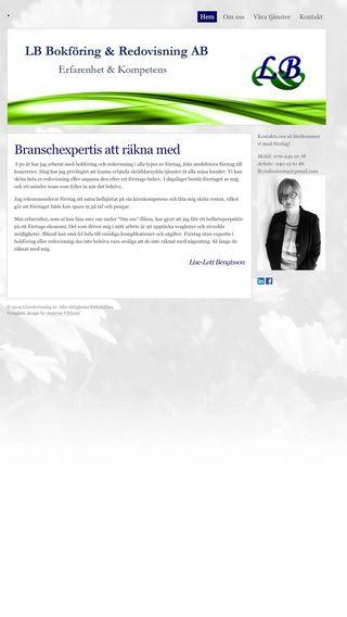 Mobile preview of lbredovisning.se