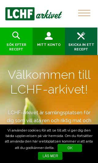 Mobile preview of lchfarkivet.se