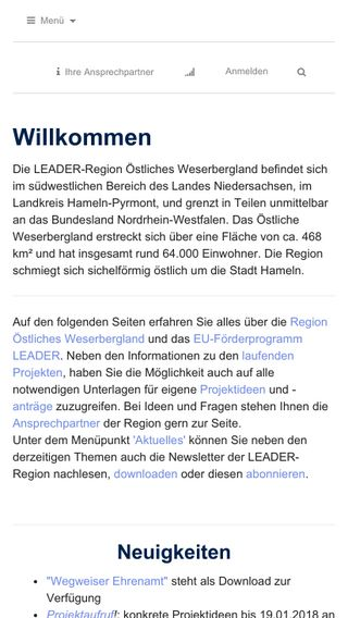 Mobile preview of leader-oestliches-weserbergland.de