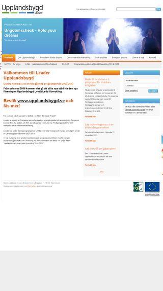 Mobile preview of leaderupplandsbygd.se