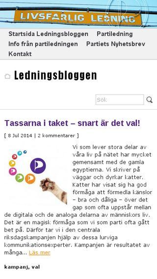 Mobile preview of ledning.piratpartiet.se