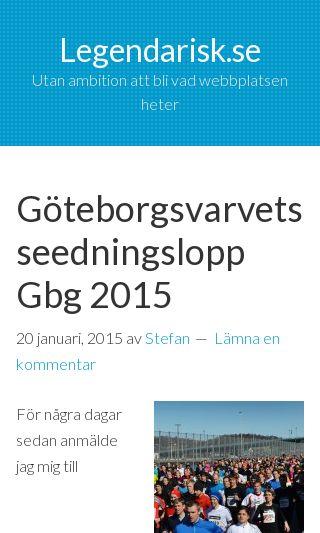 Mobile preview of legendarisk.se