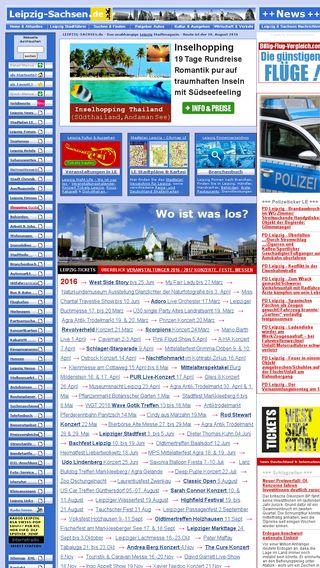 Mobile preview of leipzig-sachsen.de