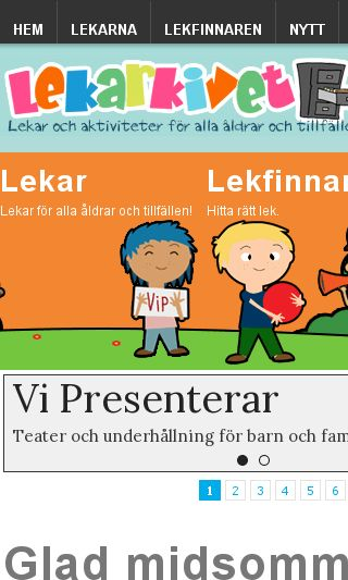 Mobile preview of lekarkivet.se