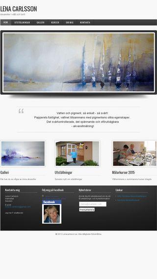 Mobile preview of lenacarlsson.se
