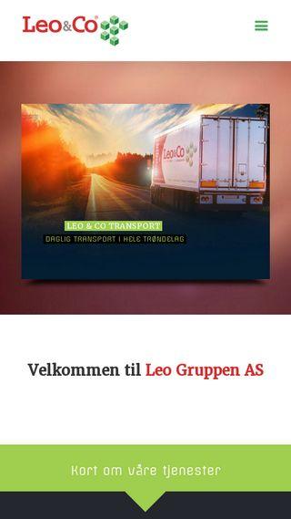 Mobile preview of leogruppen.no