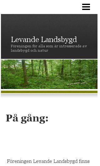 Mobile preview of levandelandsbygd.se