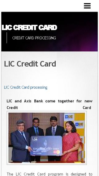 Mobile preview of liccreditcard.n.nu