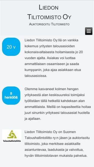 Mobile preview of liedontilitoimisto.fi