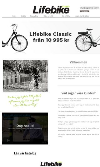 Mobile preview of lifebike.se