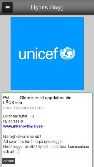 Mobile preview of ligans.blogg.se