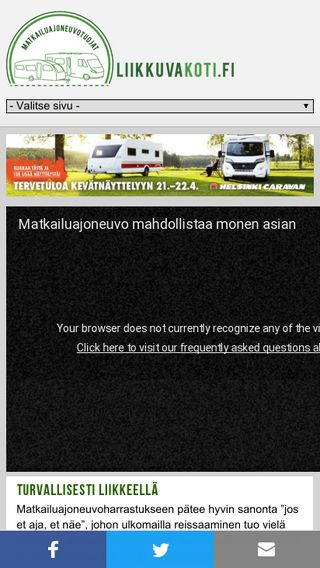 Mobile preview of messutuloste.fi