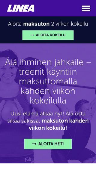 Mobile preview of liikuntakeskuslinea.fi