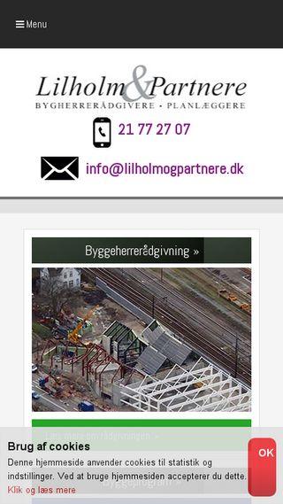 Mobile preview of lilholmogpartnere.dk