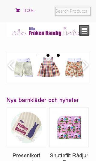 Mobile preview of lillafrokenrandig.se