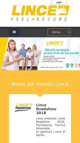 Mobile preview of lince.net