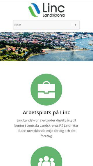 Mobile preview of linclandskrona.se