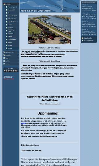 Mobile preview of lindes-hamn.se