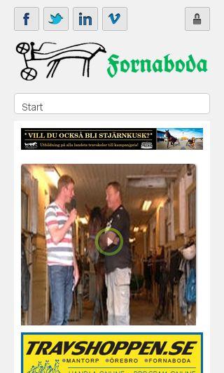 Mobile preview of lindetrav.se
