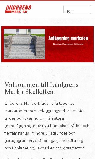 Mobile preview of lindgrensmark.se