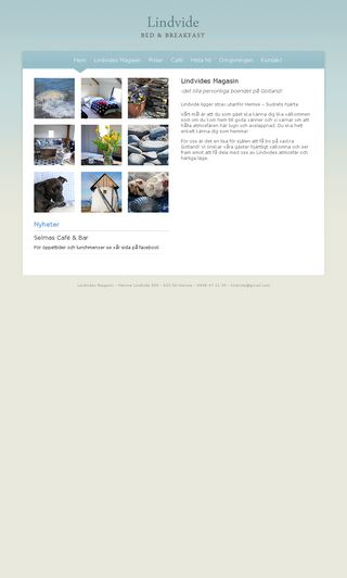 Mobile preview of lindvide.se