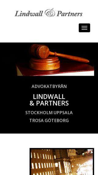 Mobile preview of lindwallandpartners.se