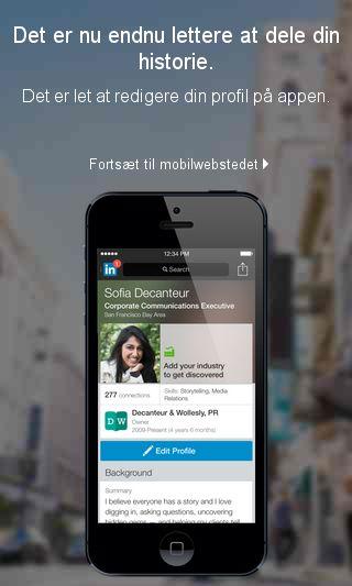 Mobile preview of linkedin.com