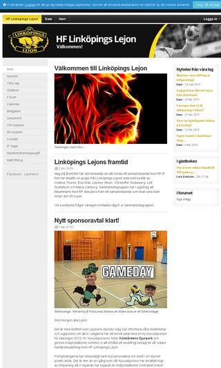 Mobile preview of linkopingslejon.se